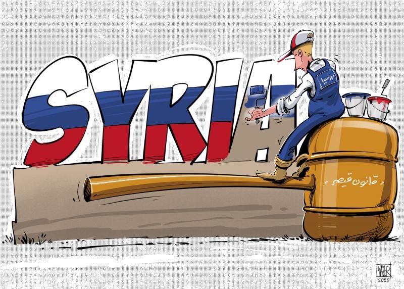 חוק קיסר - סנקציות של אמריקה על מי שמסייע למשטר הסורי ולבשאר אלאסד