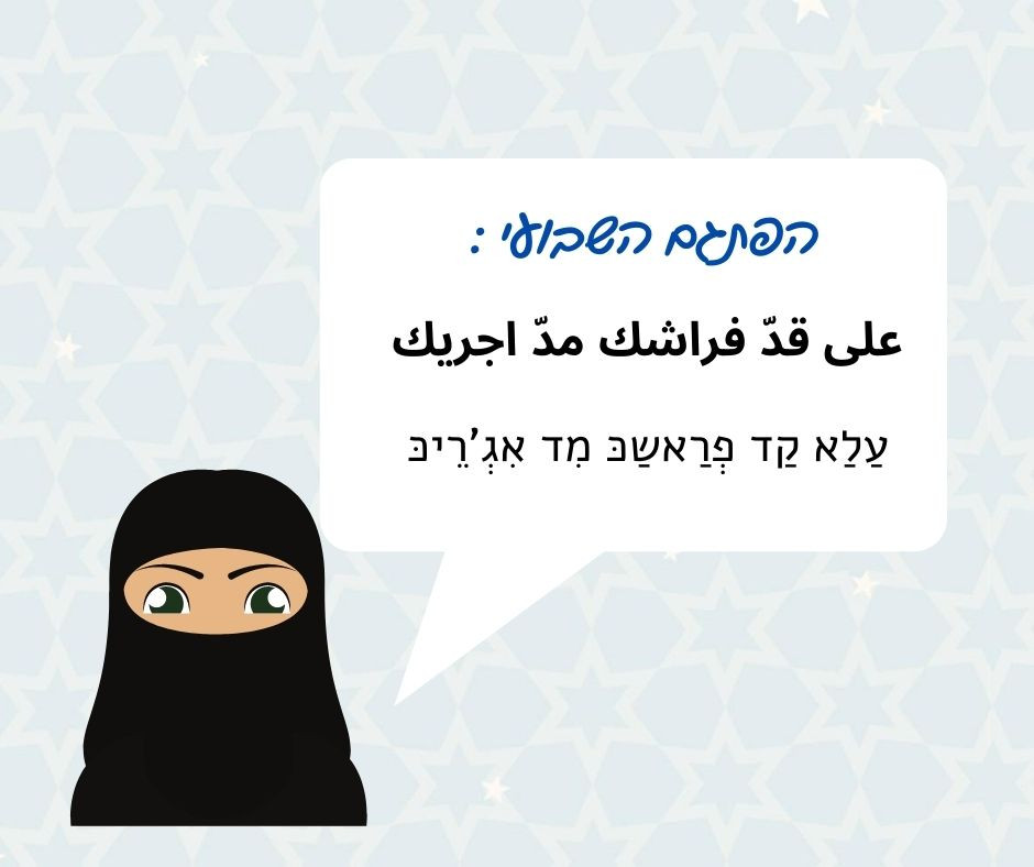 ערבית בקטנה – לצאת מהמינוס?